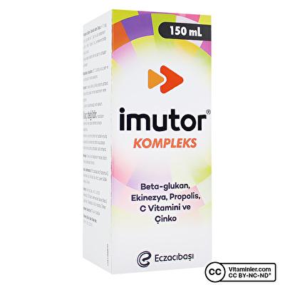 Eczacıbaşı Imutor Kompleks Sıvı 150 mL