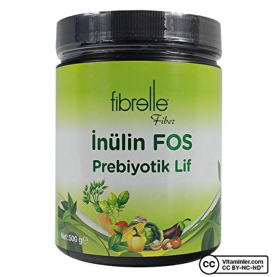 Fibrelle İnülin Fos Prebiyotik Lif 500 Gr