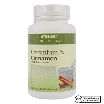 GNC Chromium & Cinnamon 60 Kapsül