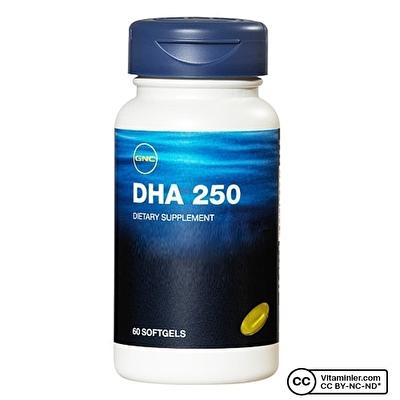 GNC DHA 250 Mg 60 Kapsül