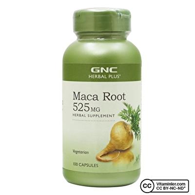 GNC Maca Root 525 Mg 100 Kapsül