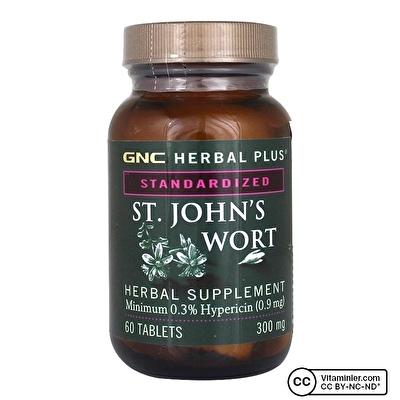GNC St. John's Wort 300 Mg 60 Tablet