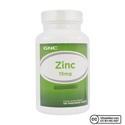 GNC Zinc 15 Mg 100 Tablet
