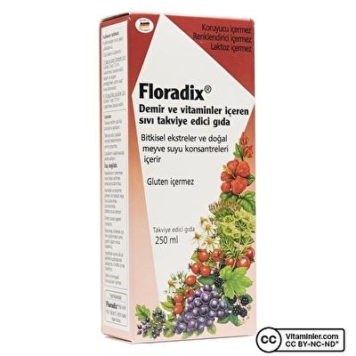 Hyper Floradix Şurup 250 mL