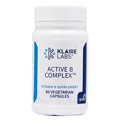 Klaire Labs Active B Complex 60 Kapsül