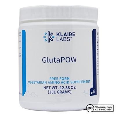 Klaire Labs L-Glutamine Powder 351 Gr