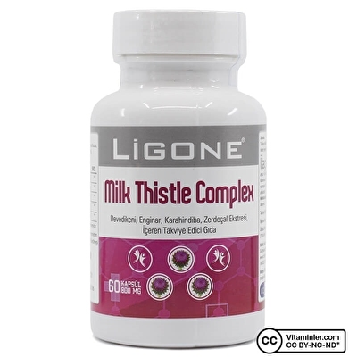 Ligone Milk Thistle Complex 60 Kapsül