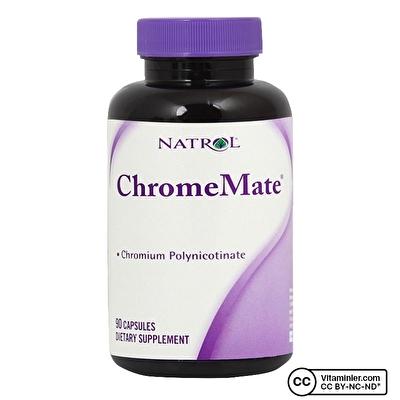 Natrol ChromeMate 90 Kapsül