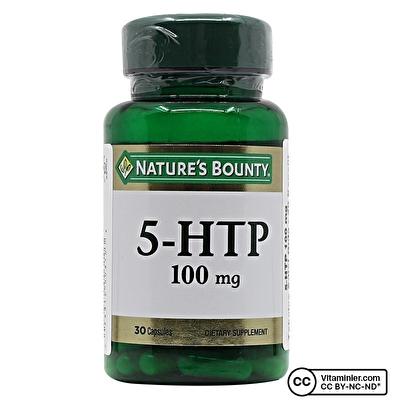 Nature's Bounty 5-HTP 100 Mg 30 Kapsül