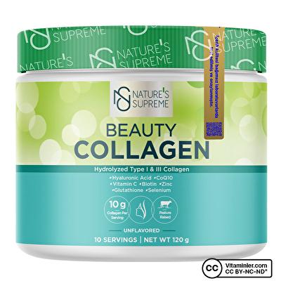 Nature's Supreme Beauty Collagen Powder 120 Gr Aromasız