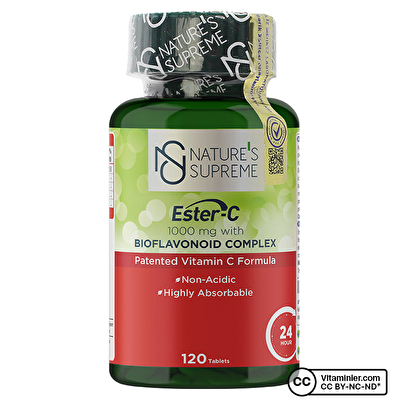Nature's Supreme Ester-C 1000 Mg C Vitamini 120 Tablet