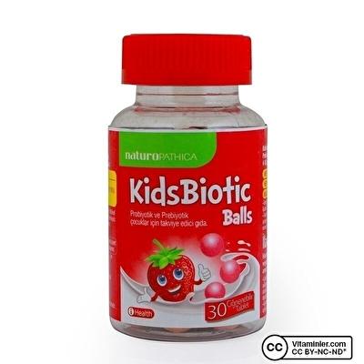 Naturopathica Kidsbiotic Balls 30 Çiğnenebilir Tablet
