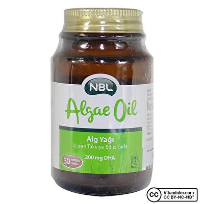 NBL Algae Oil - Alg Yağı 30 Kapsül