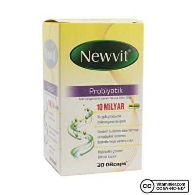 Newvit Probiyotik 30 Kapsül