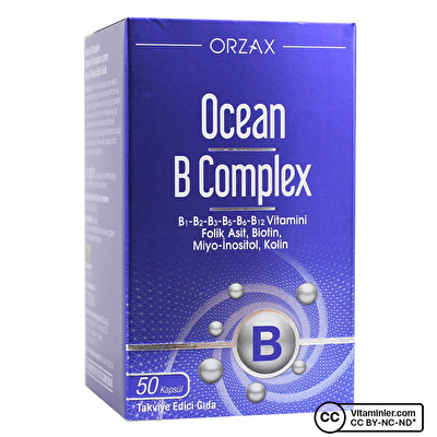 Ocean B Complex 50 Kapsül