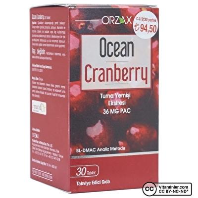 Ocean Cranberry 30 Tablet