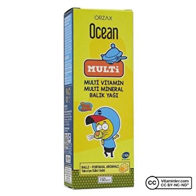 Ocean Multi Vitamin ve Balık Yağı Kral Şakir 150 mL