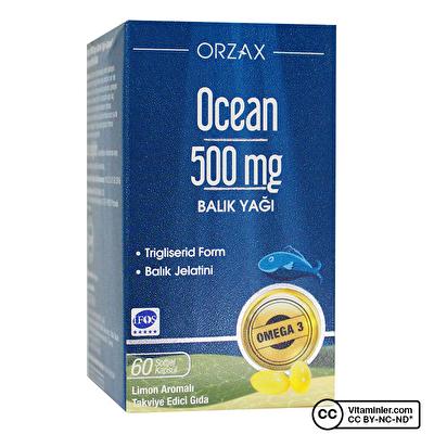 Ocean Saf Balık Yağı 500 Mg 60 Kapsül