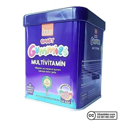 Ocean Smart Gummies Multivitamin 64 Çiğnenebilir Tablet