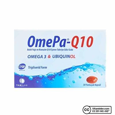 Omepa-Q10 Omega3 Ubiquinol 30 Kapsül