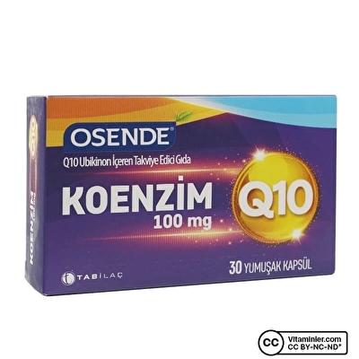 Osende Koenzim Q10 100 Mg 30 Kapsül