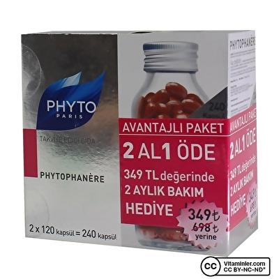Phyto Phytophanere Avantajlı Paket 2x120 Kapsül