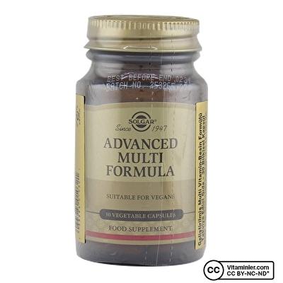 Solgar Advanced Multi Formula 30 Kapsül