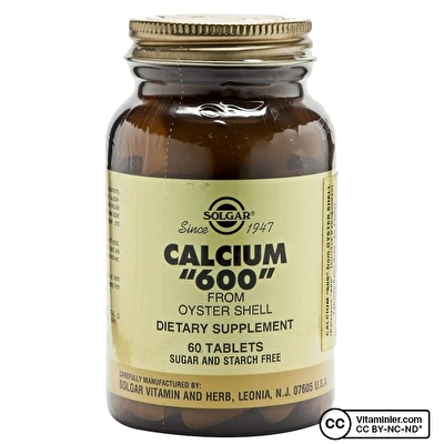 Solgar Calcium 600 (Oyster Shell) 60 Tablet