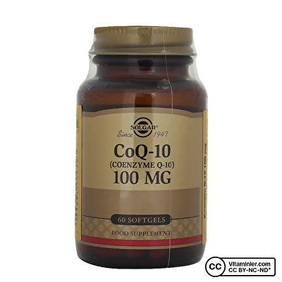 Solgar Coenzyme Q-10 100 Mg 60 Softjel