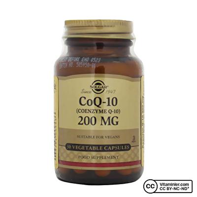 Solgar Coenzyme Q-10 200 Mg 30 Kapsül