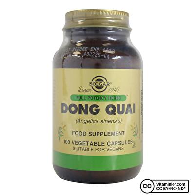 Solgar Dong Quai 100 Kapsül