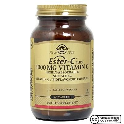 Solgar Ester-C Plus 1000 mg 60 Tablet