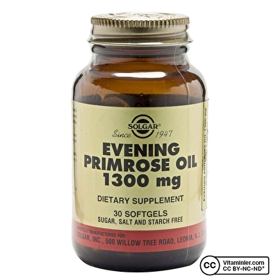 Solgar Evening Primrose Oil 1300 Mg 30 Softjel