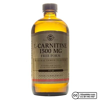 Solgar L-Carnitine 1500 Mg 473 mL