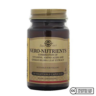 Solgar Nero Nutrients 30 Kapsül