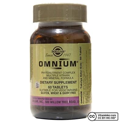 Solgar Omnium 60 Tablet