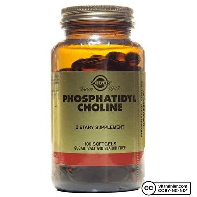 Solgar Phosphatidyl Choline 100 Kapsül