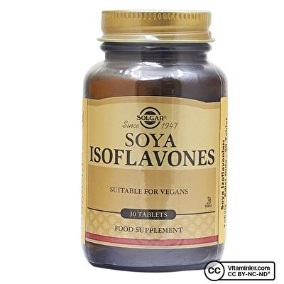 Solgar Soya Isoflavones 30 Tablet