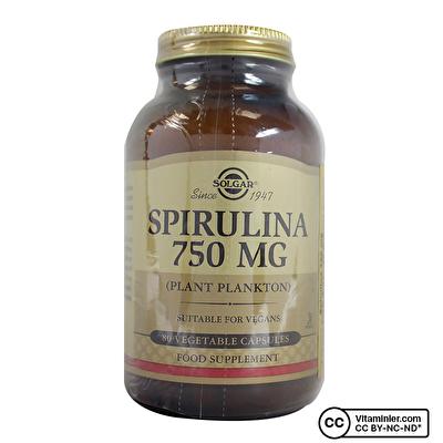 Solgar Spirulina 750 Mg 80 Kapsül