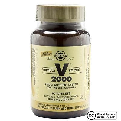 Solgar VM 2000 90 Tablet