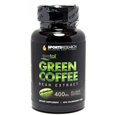 Sports Research Green Coffee Bean Extract 400 Mg 60 Sıvı Kapsül
