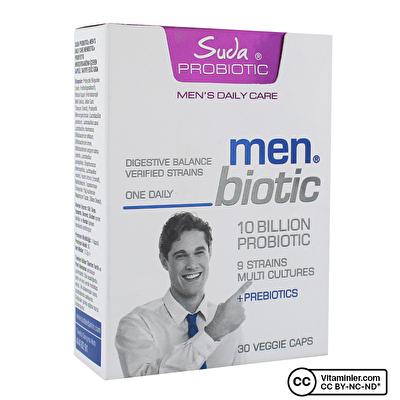 Suda Probiotic Men's Daily Care Menbiotic Probiyotik 30 Kapsül