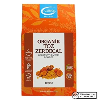 The Lifeco Organik Toz Zerdeçal 100 Gr