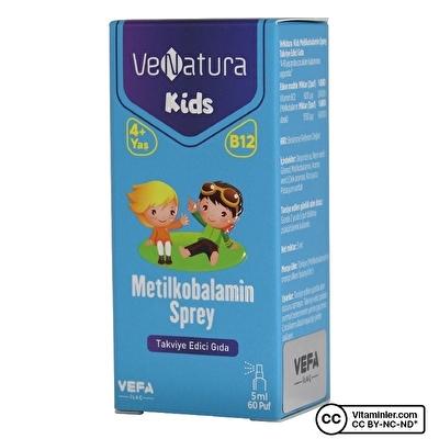 Venatura Kids B12 Metilkobalamin Sprey 5 mL 60 Puff