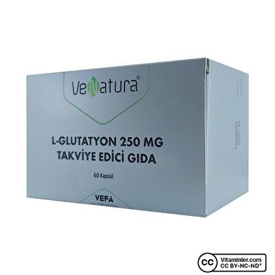 VeNatura L-Glutatyon 250 Mg 60 Kapsül