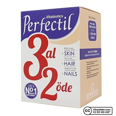 Vitabiotics Perfectil 3 Al 2 Öde 3 x 30 Tablet