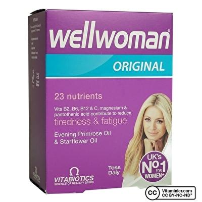 Vitabiotics Wellwoman Original 60 Tablet