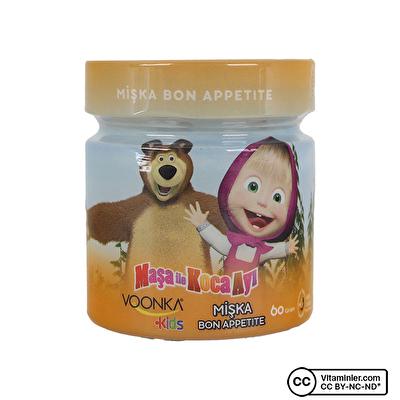 Voonka Kids Maşa ile Koca Ayı Mişka Bon Appetite 60 Gr