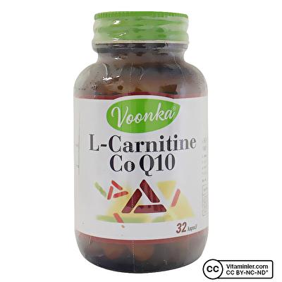 Voonka L Carnitin & Co Q10 32 Kapsül