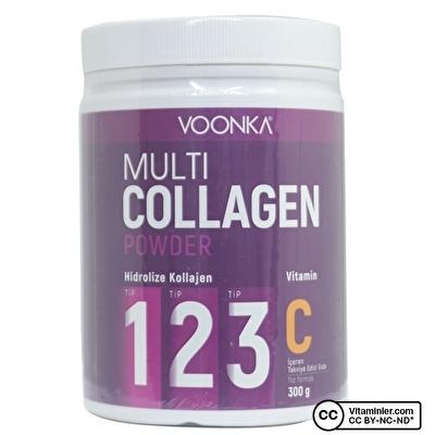 Voonka Multi Collagen Powder 300 Gr